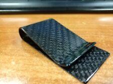 Big Baller Money Clip Simply Carbon Fiber Metal Mini Credit Card Men Cash Wallet