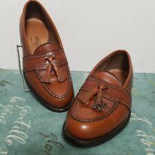 "Allen Edmonds ""Harvard"" Tassel Loafers 40991 Size 9D Leather Made in USA"