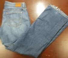 Lucky Brand Womens Easy Rider Jeans Low Rise Straight Leg Stretch Size 8 29 A