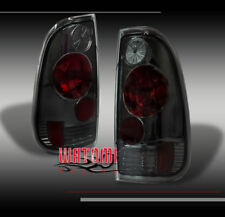 97-03 FORD F-150 F-250 F-350 PICKUP TRUCK TAIL BRAKE LIGHTS LAMPS SMOKE NEW PAIR