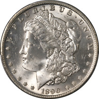 1890-O Morgan Silver Dollar PCGS MS64 Blast White Great Eye Appeal Nice Strike