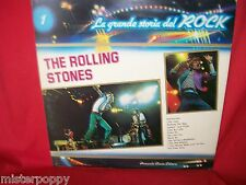ROLLING STONES la grande storia del Rock Italian only LP ITALY MINT G/f Cover