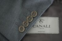 Canali 1934 CURRENT Travel Gray Nailhead Mohair Blend Sport Coat Jacket Sz 42S