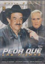 DVD - Peor Que Las Fieras NEW Rogelio Guerra Yolanda Lievaba FAST SHIPPING !