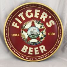 1940 Fitger's Beer Tray Star Duluth Minnesota Ship Vintage Advertising