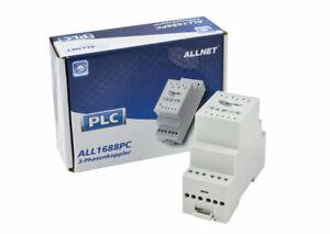 """***used***ALLNET Powerline Phasenkoppler 3 Phasen + LX """"passiv"""" ALL1688PC***used"""