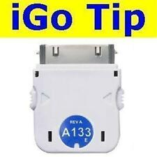 nuevo iGo A133 Punta Apple iPhone 4S/4/3GS/3G/2G + iPod Nano/Touch Cargador/Para