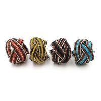 Seed Bead Memory Wire Bracelet Wholesale Lot Ethnic Handmade Jewelry