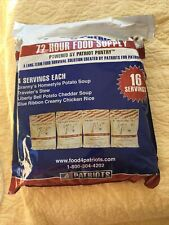 Food 4 Patriots 72-Hour Food Supply Kit - Survival - Emergency 16 Servings