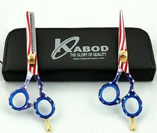 "Professional Hairdressing Hair Cutting Barber Scissors  Razor Edge 5.5"" 440c"