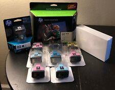 HP 02 Ink cartridges Photo Value Pack, 6 Pack EXP 3210, 3310, C5180