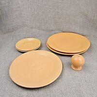 YOUR CHOICE Fiestaware Yellow Plates Saucers Salt shaker $5 - $8