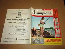 RIVISTA SPORTIVA IL CAMPIONE ANNO 1956 ANNO II° N°38 ROCKY MARCIANO BONIPERTI