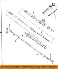 GM OEM Steering Gear-Outer Tie Rod End 26045051