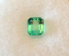 1.30 Carat Colombian Emerald from Chivor Mine with Appraisal Valued at $2,200.00