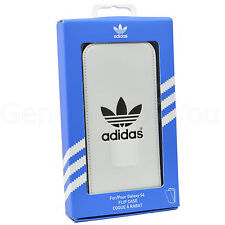 Originale Autentico ADIDAS FLIP FLAP Custodia cover per Samsung Galaxy S4 -