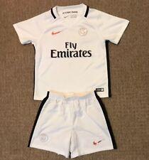 ccddf6a853af9 Boys Paris Saint Germain away football kit size 4-5 years Nike 2015-2016