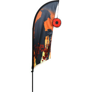 We Will Remember Them Lawn Flag