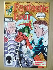 Marvel Comics Group- THE FANTASTIC FOUR, Vol.1, No.273, Decembr 1984 (Exc* )
