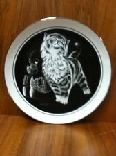 Kittens World Purr-Fect Pleasure Collector Plate by Droguett w/Coa and box 18072
