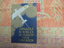 Appareils de bord et de station fixe pour aviation 1930