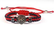 Saint Benedict Red and Black Bracelet For Baby / San Benito Bebe + 1Free Gift