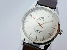 Vintage Men's HMT Janata Silver Dial Hand-Winding Wrist Watch Excellent Conditio