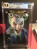Joker: Year of the Villain CGC 9.8 COMIC MINT TRADE VARIANT MIKE MAYHEW