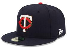 New Era Minnesota Twins ALT 59Fifty Fitted Hat (Navy) MLB Cap