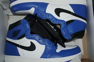 Nike Air Jordan 1 Retro High OG Game Royal Size 10 Brand New 555088 403