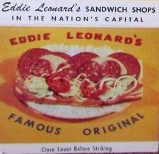 SPORTS - BOXING - BOXE: BOXER EDDIE LEONARD (also a boxing referee) -O25