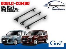 9408 BARRE PORTATUTTO GEV FIAT DOBLO' (dal 2010...) OPEL COMBO (2012...)