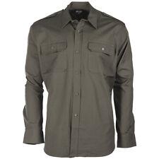 US Feldhemd Ripstop langarm S-3XL Tropenhemd Safarihemd Army Hemd Armeehemd