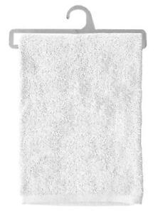 Stof 100 Percent Pure White Cotton Towel B45848011 100 x 150 cm