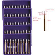 50pcs Dental Carbide Tungsten Burr Burs Fg 7404 Polishing Drills Egg Shape Hot