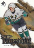 2000-01 SP Authentic Honor Hockey Cards Pick From List