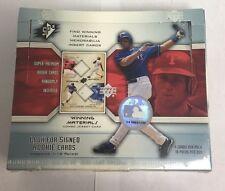 2002 Upper Deck SPX Factory Sealed Baseball Hobby Box