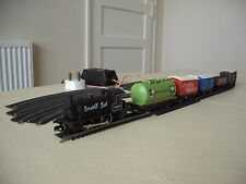Hornby OO Gauge electric train set - 'Smokey Joe'  with rolling stock.