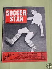 SOCCER STAR - UK FOOTBALL MAGAZINE -20 JAN 1962 - BRIAN HILL- DONCASTER- SWINDON