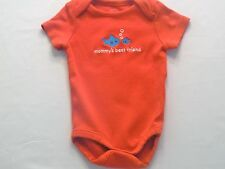 "Gymboree ""Hello Submarine"" Mommy's Best Friend Bubbles Fish Red Bodysuit, 3-6 mo"