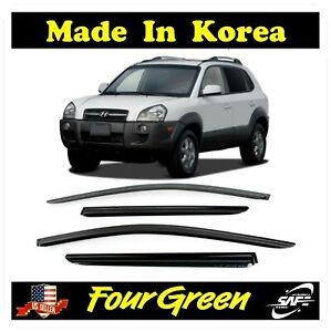 Smoke Window Sun Vent Visor Rain Guards for 2005-2009 Hyundai Tucson⭐⭐⭐⭐⭐