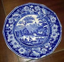 """Ceramica/Porcellana/Piatto/Dish""""JOHNSON BROS ENGLAND OLD BRITAIN CASTLES""""Anni 50"""