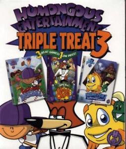 Backyard Baseball Freddi Fish 2 Spy Fox Cheese  NEW BOX  Humongous Triple Treat