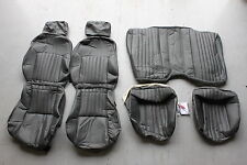 Firebird/Trans Am Graphite Gray Leatherette Seat Covers NEW