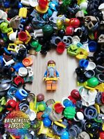 LEGO X30 HAT HELMET HAIR WAIST FEET WEARABLE MINIFIGURE BULK ACCESSORIES