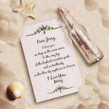 Message In a Bottle Endless Love Valentine's Day Gift