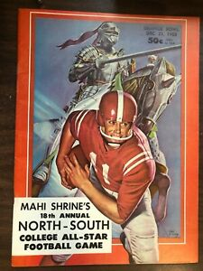 MAHI SHRINES 18TH ANNUAL NORTH-SOUTH COLLEGE ALL-STAR FOOTBALL GAME 1963