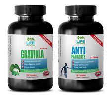 antioxidant greens – Graviola - Anti-Parasites Combo 2B - graviola leaves sourso