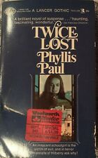 Twice Lost Phyllis Paul Vintage Paperback Extremely Rare Free Postage