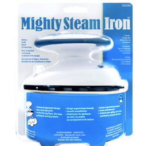 Dritz Mighty Steam Iron, Travel Size NEW